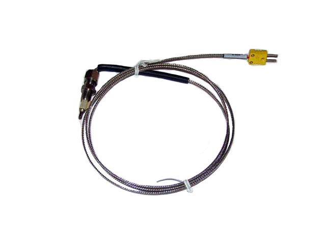 "A-EGT4027 - Thermocouple 1/4"" tube 24"" with Mini Connector"