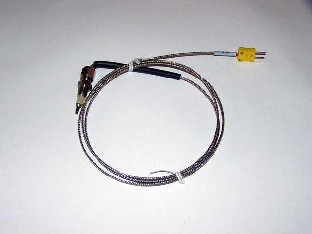 "A-EGT4028 - Thermocouple 1/4"" tube 36"" with Mini Connector"