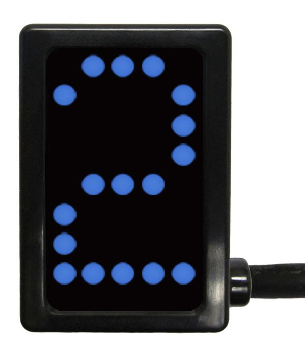 A-GDS5020 - PCS Gear Indicator, Blue Display, Unterminated