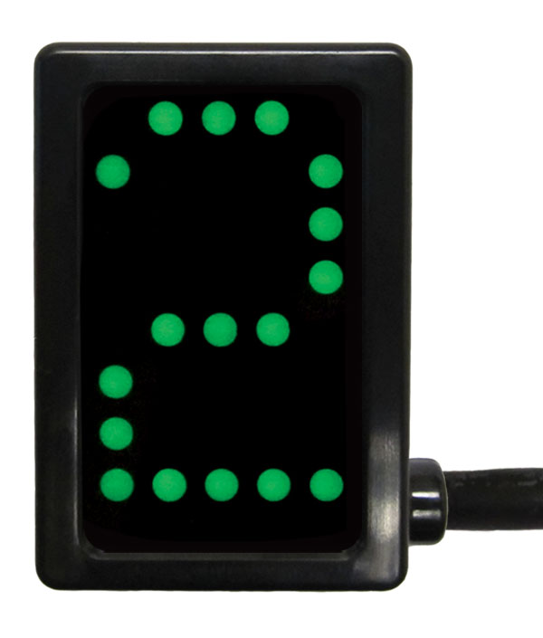 A-GDS5031 - PCS Gear Indicator, Green Display, OBDII