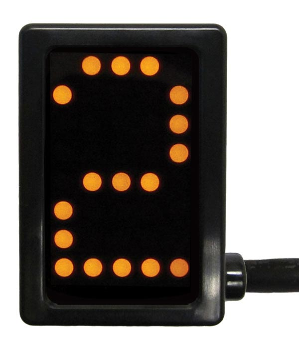 A-GDS5040 - PCS Gear Indicator, Yellow Display, Unterminated