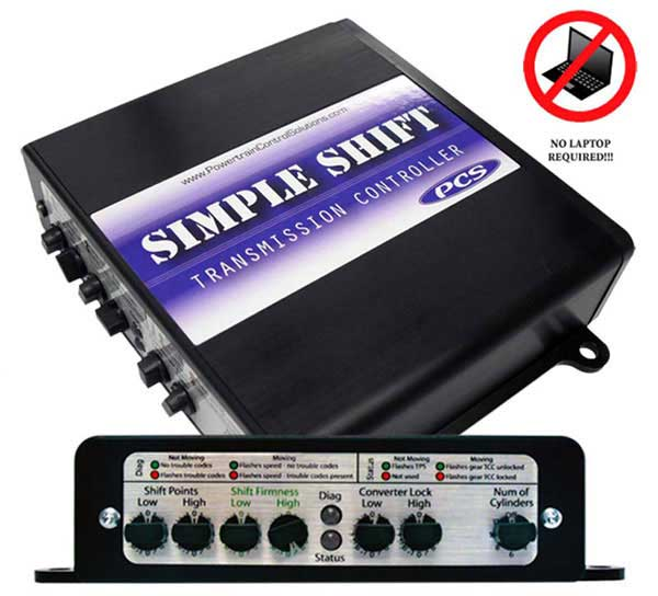 TCM2300 - Simple Shift Transmission Controller