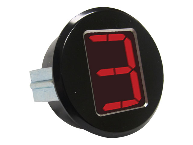 "A-TCM3700 - Digital Gear Indicator, 2.0"" OD, Black Anodized"