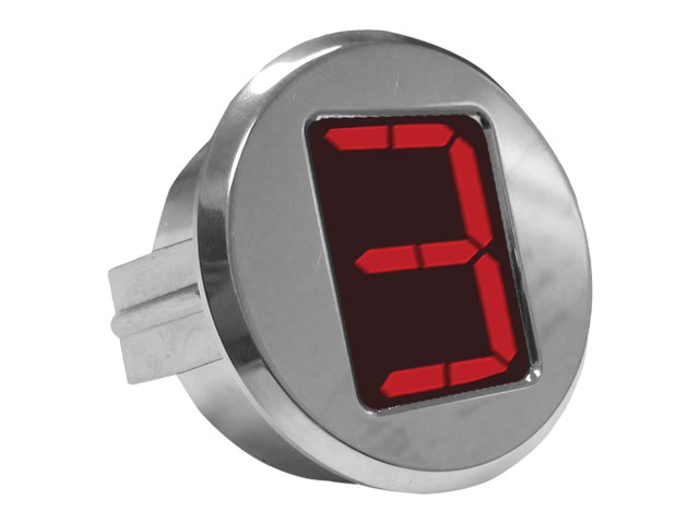 "A-TCM3701 - Digital Gear Indicator, 2.0"" OD, Polished"