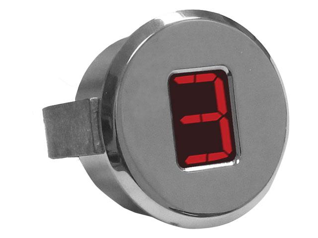"A-TCM3703 - Digital Gear Indicator, 1.75"", Polished"