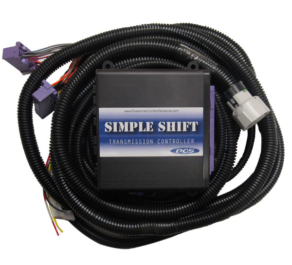A-TCM5310 - GM 4L60E/4L65E (1993+) Simple Shift Kit including TCU and Harness