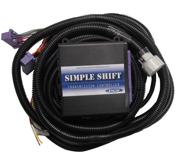A-TCM5335 - GM 4L80E/4L85E (1993+) Simple Shift Kit including TCU and Harness