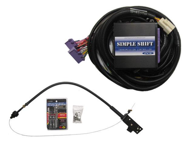A-TCM5336 - GM 4L80E/4L85E (1993+) Simple Shift Carb Kit including TCU, Harness, and TPS Kit